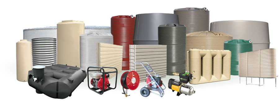 Rainwater tanks and accessories